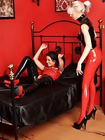 LoversInLatex.com - Lesbian Lovers in Latex
