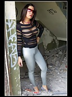 Slinkycheeks supertight leggings in grey